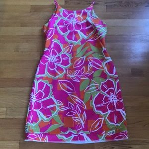 just Taylor size 8 floral dress - as is